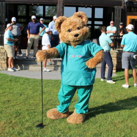Niswonger Children's hospital bear mascot