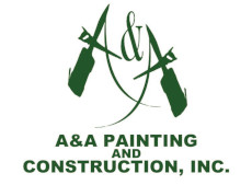 AA painting construction logo